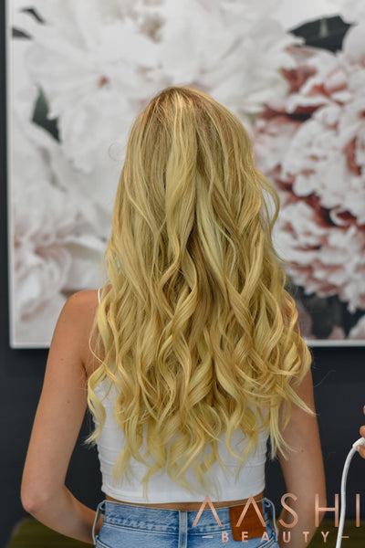 Ash Blonde Hair Extensions (#60)