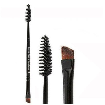 Vegan Duo Brow Brush - Aashi Beauty