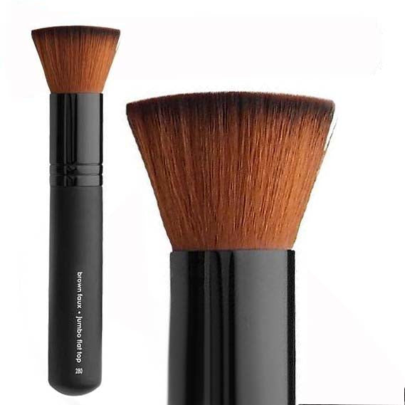 Vegan Jumbo Flat Top Brush - Aashi Beauty