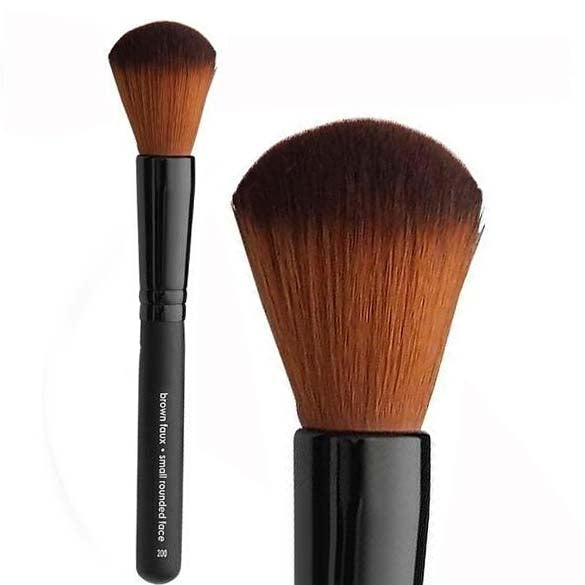 Vegan Small Rounded Face Brush - Aashi Beauty