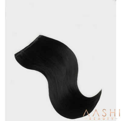 Natural Black Hair Extensions (#1B) - Aashi Beauty