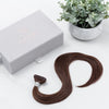 Chocolate Brown (#2) Tape-In (Natural Drawn - Thin) - Aashi Beauty