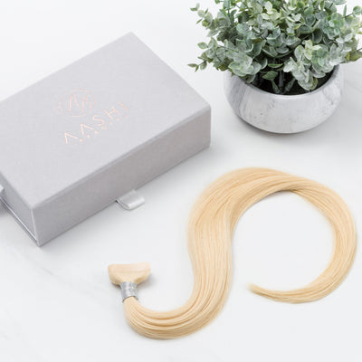 Vanilla (#613) Tape-In - Natural Drawn (Thin) - Aashi Beauty