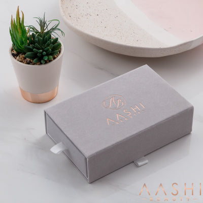 SUEDE ACCESSORY STORAGE BOX - Aashi Beauty