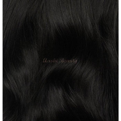 Natural Black Tape In Hair Extensions #1B - Aashi Beauty