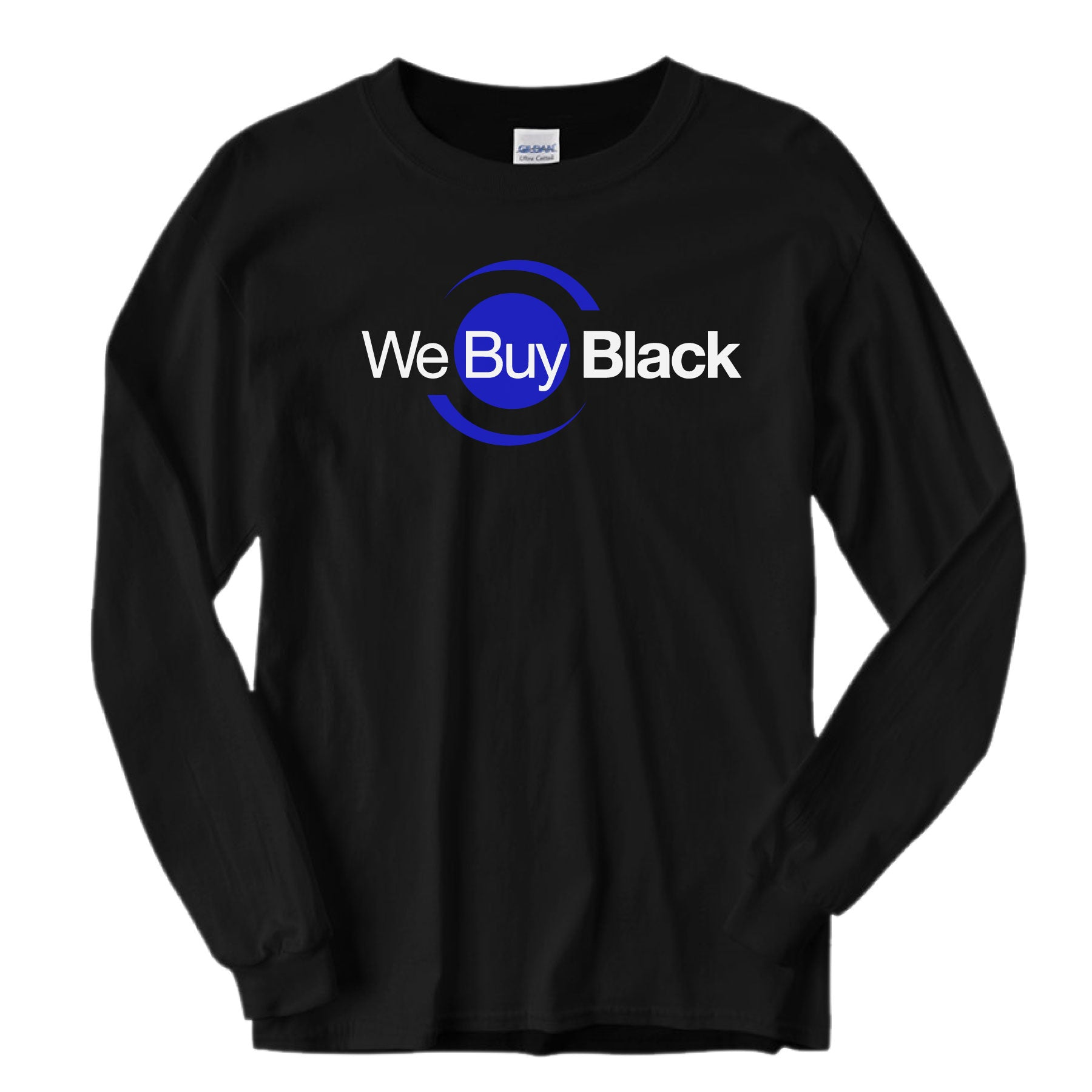 WeBuyBlack Long Sleeve Shirt - Black