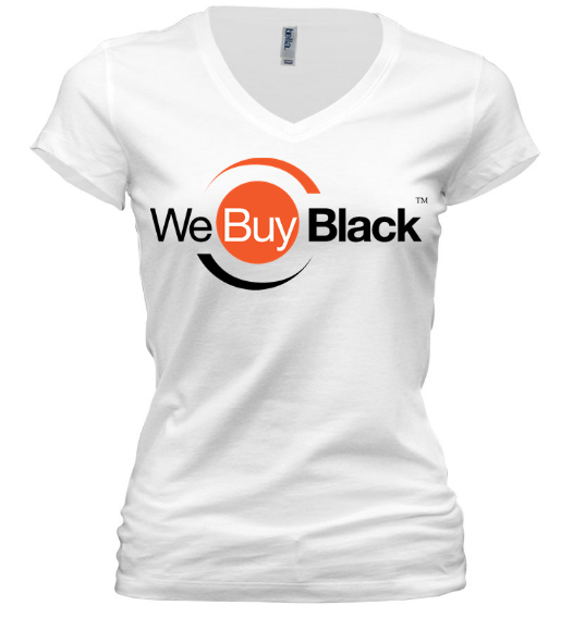 Women's Short Sleeve V-Neck - White