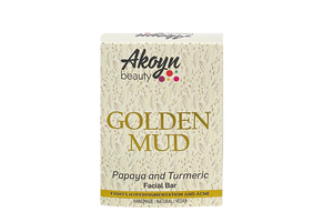 GOLDEN MUD TURMERIC AND PAPAYA FACIAL BAR