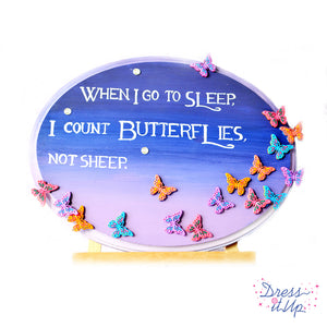 Butterflies Plaque