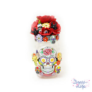 Day Of The Dead Jar