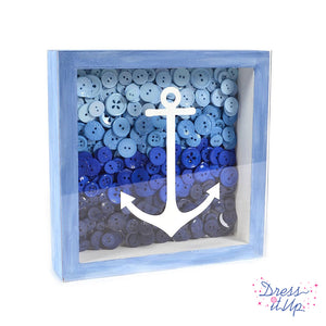 Nautical Color Block Framed Art