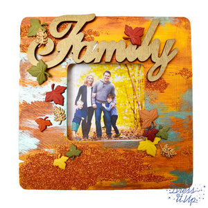 Fall Family Picture Frame