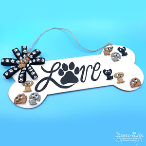 Playful Puppies Home Decor Sign