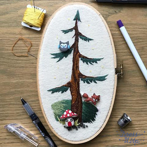 Woodland Embroidery