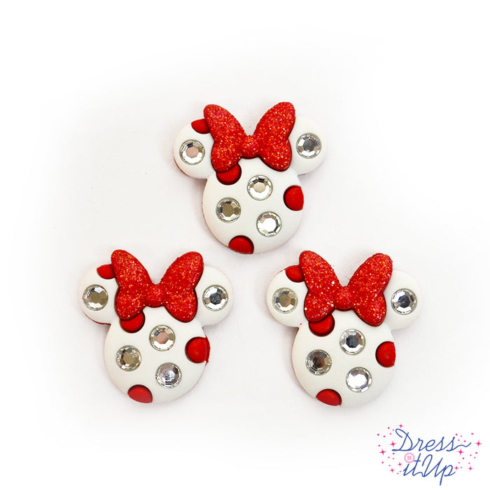 Minnie Mouse Rhinestone Heads Singles