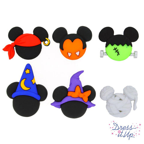 MICKEY AND MINNIE HALLOWEEN HATS