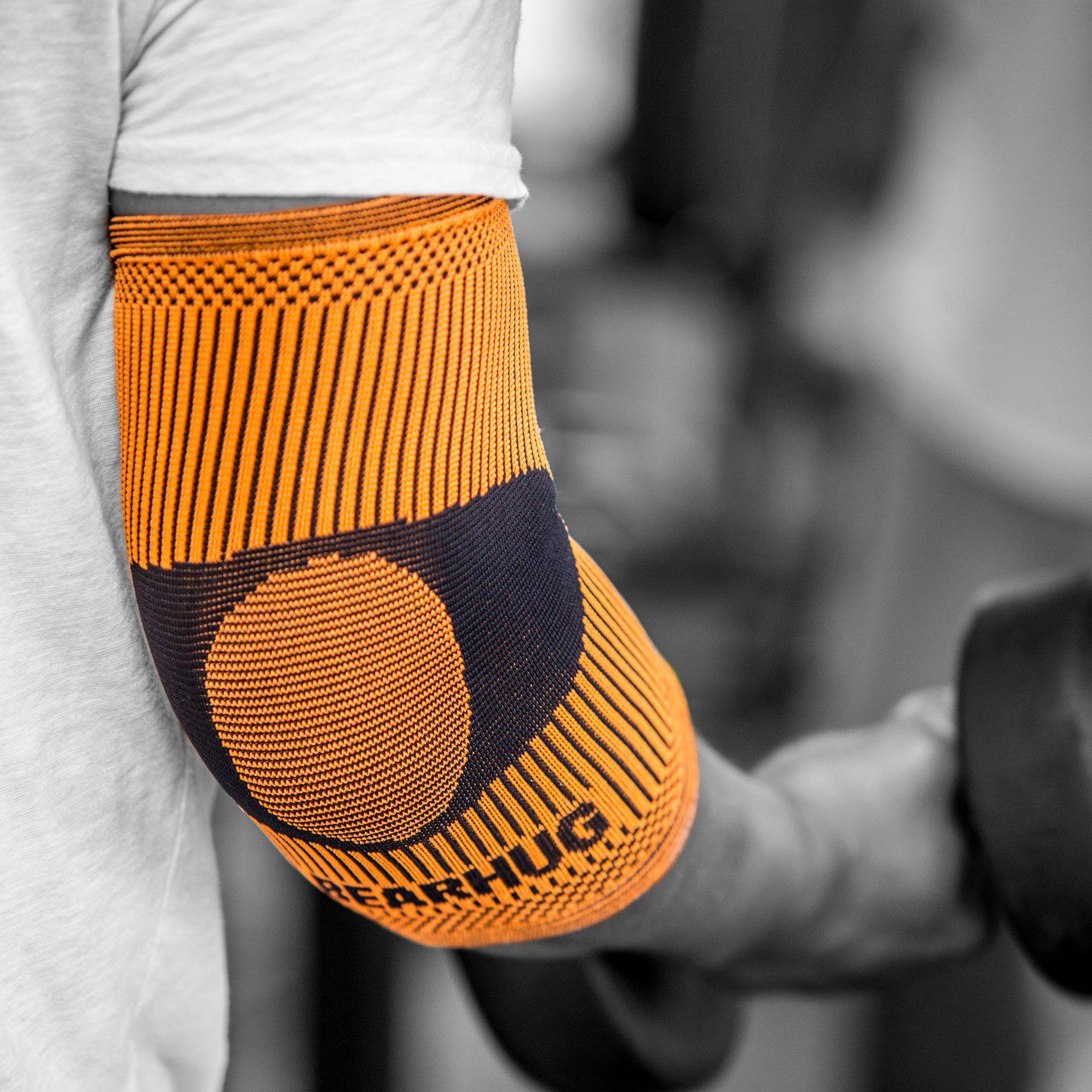 Elbow Compression Support Sleeves (Pair)-Support-Bearhug