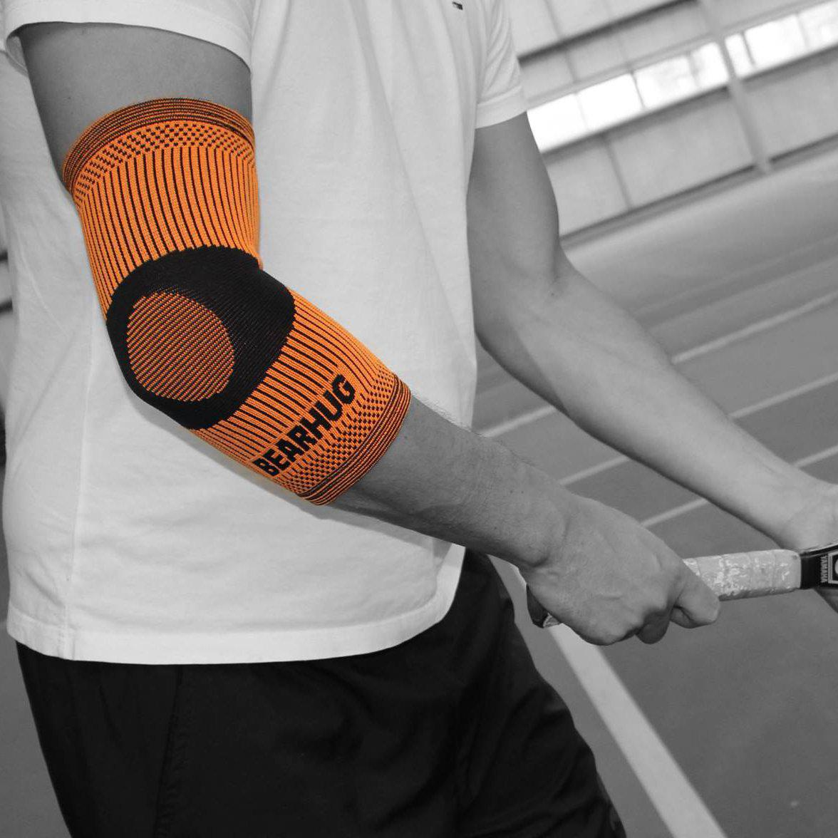 Elbow Compression Support Sleeve For Tennis Elbow Recovery-Support-Bearhug