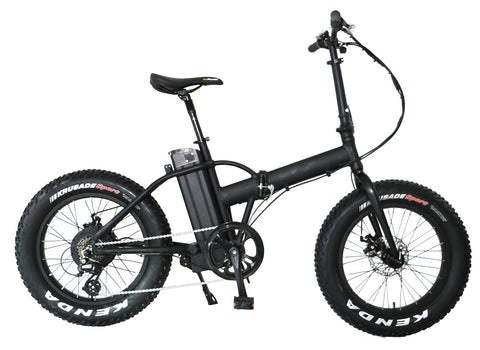 20inch 36V 250W Folding Fat Tire Ebike - ZoomBicycles