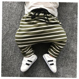 The Striped Harem Pant