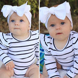 Ruffles & Stripes Onesie White