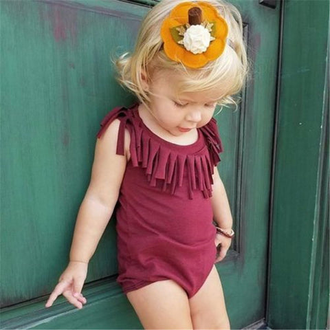 Fringe Romper - Colors