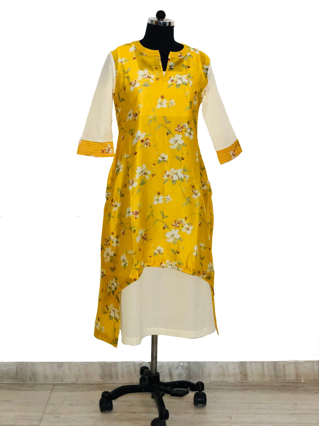 Chand collection -bright yellow