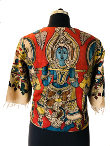 Q Collection-hand kalamkari