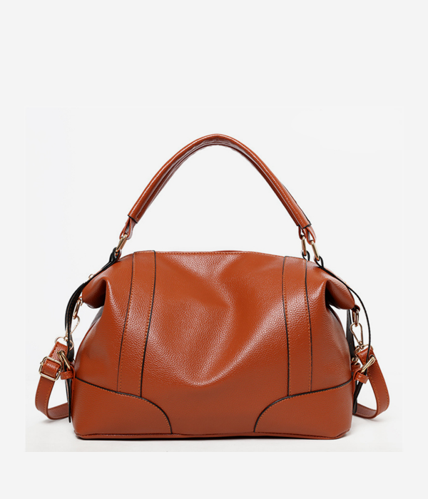 vegan leather duffle bag travel shoulder