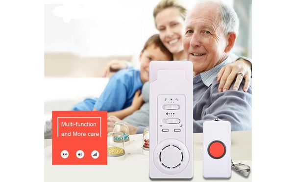 Remote Wireless Caregiver Pagers(1 call 1) | Caregiver Alert Pager | Emergency Call Button for Elderly - ringdido