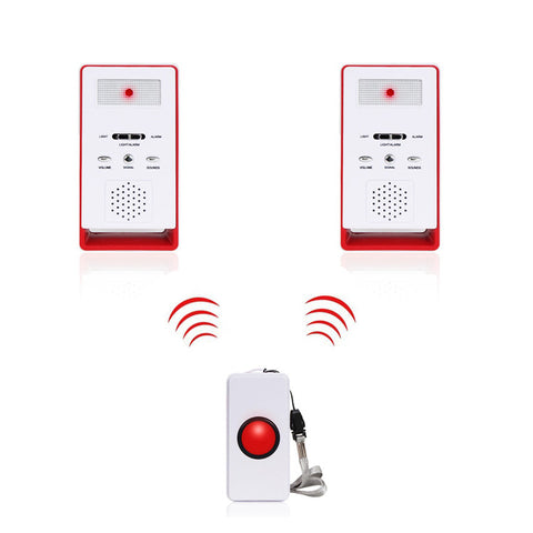 Wireless Caregiver Pagers(1 call 2) | Emergency Call Systems For The Elderly | Device For Elderly To Call For Help - ringdido