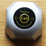 Wireless Restaurant Pager | Hamburg Type Button - ringdido