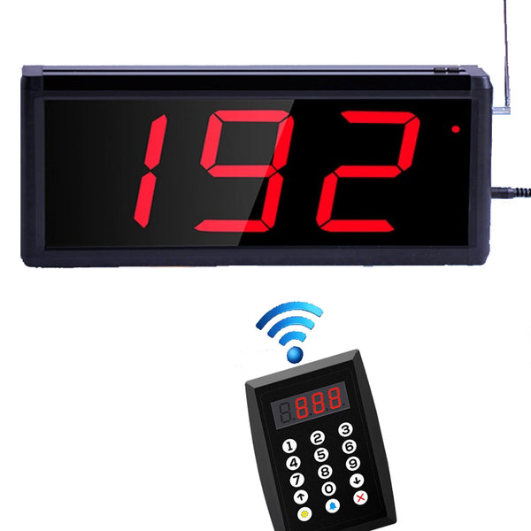 Wireless Queuing Pager System | Electronic Queuing System | Queuing Calling System - ringdido