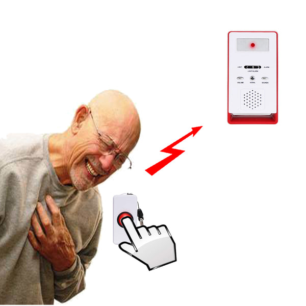 Wireless Caregiver Pagers(2 call 1) - ringdido