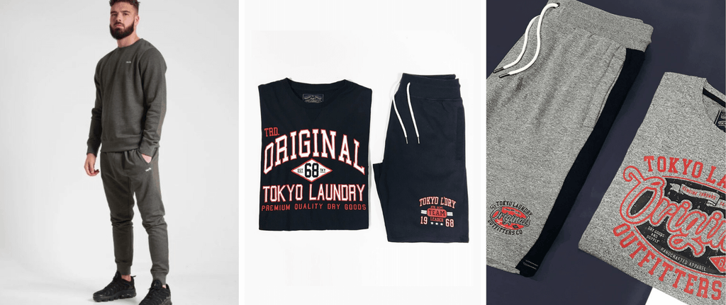 Men's co-ords at Tokyo Laundry