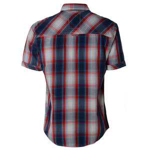 Mens Tokyo Laundry  short sleeve shirt in Red