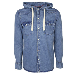 Tokyo Laundry Division Hooded Denim Shirt