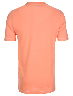 Tokyo Laundry Susumu Photo Print T-Shirt in Laundered Coral