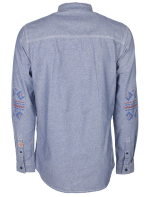 Tokyo Laundry Greco Long Sleeved Cotton Shirt
