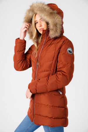 Tokyo Laundry Ladies Packaway Quilted Lightweight Jacket Padded Puffer Thin Coat