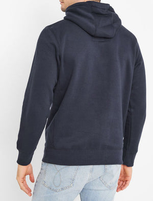 Nocona Brush Back Fleece Pullover Hoodie In Navy – Tokyo Laundry