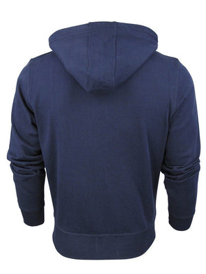 South Shore Cotton zip up hoodie in blue
