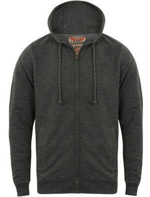 Gate Zip Through Hoodie in Blackened Pearl – Tokyo Laundry