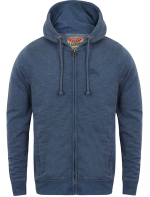 Gate Zip Through Hoodie in Blue – Tokyo Laundry