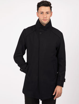 Gandy Wool Rich Coat in Navy Melton – Tokyo Laundry