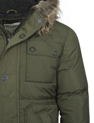 Men's Dissident Delmonica Padded Jacket in Green