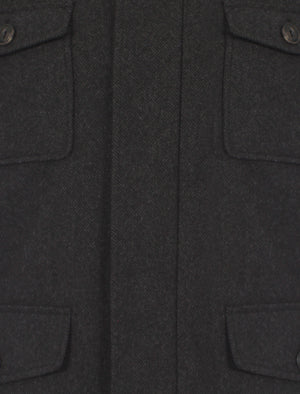 Dissident Grey WOOL BLEND Military Jacket