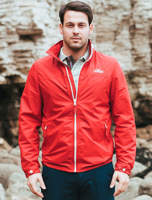 Rutledge Windbreaker Jacket in Red – Tokyo Laundry