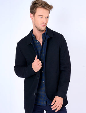 Abdale2 Wool Blend Coat in Navy – Tokyo Laundry