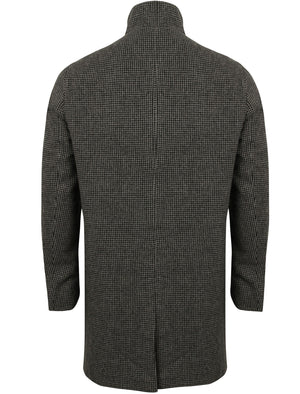 Libertas2 Wool Blend Coat in Dogtooth - Tokyo Laundry